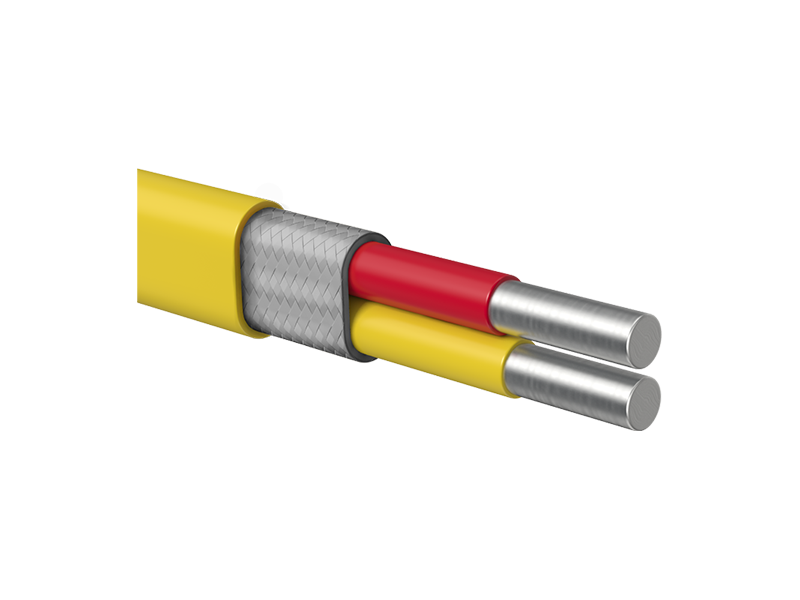 Silicon Rubber Insulated Thermocouple Wire / Cable