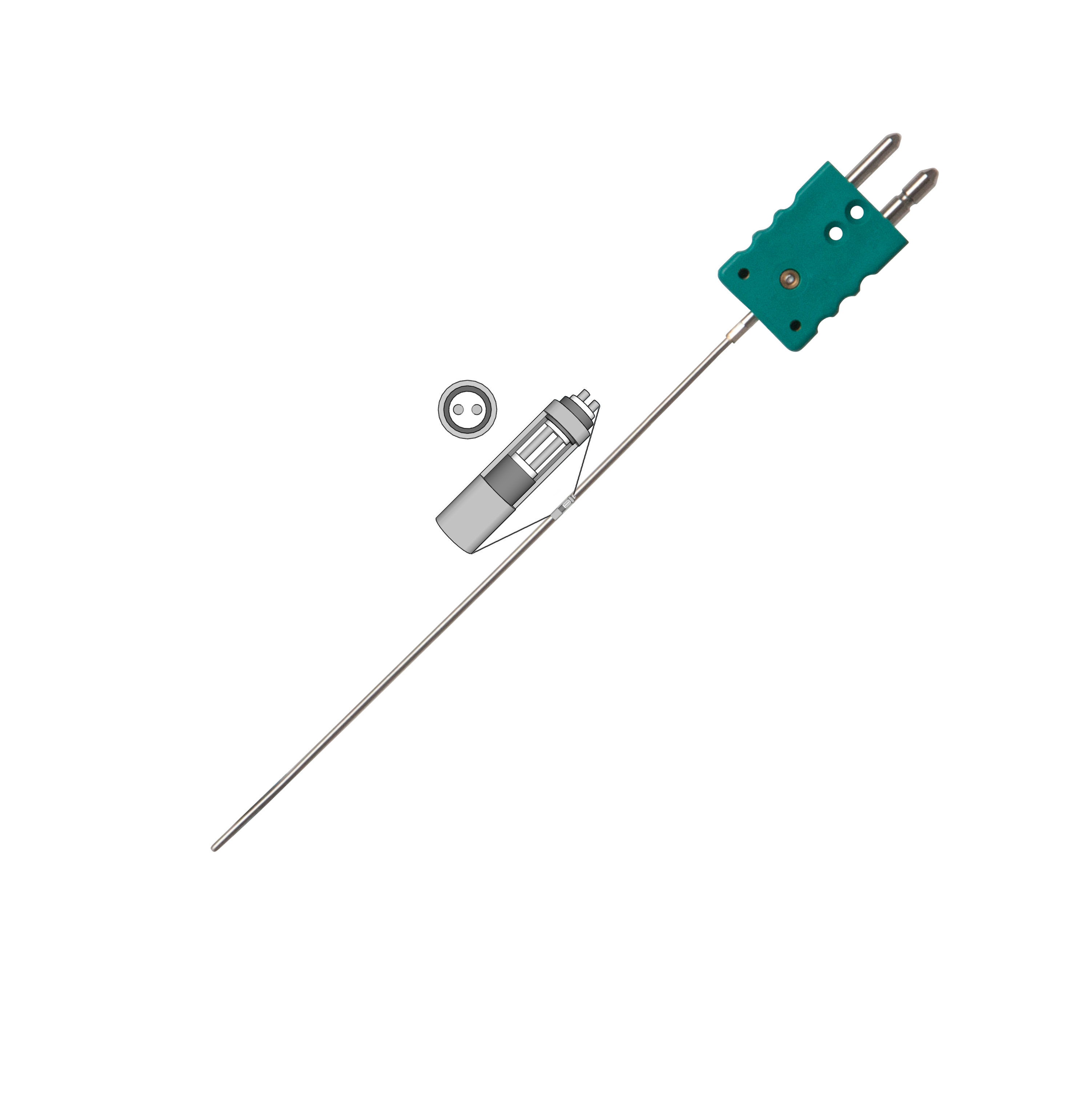 Long Life Mineral Insulated Thermocouple