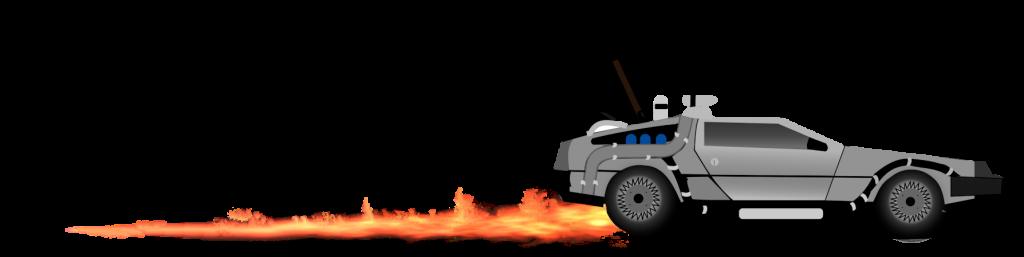 Pyro Tag Delorean graphic